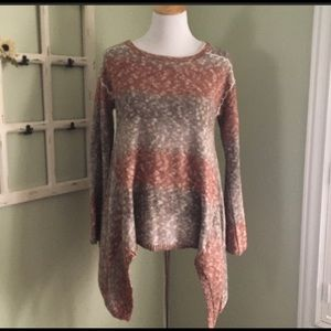 Knox Rose sweater fall ombré small